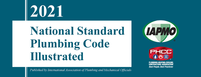 2021 National Standard Plumbing Code – Illustrated Now Available