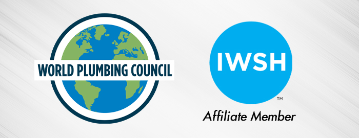 IWSH Foundation Joins World Plumbing Council as Affiliate Member